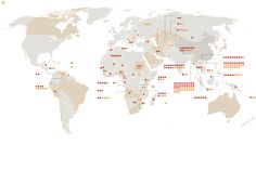 Ever wondered how many dams China is trying to build around the world? China's Global Reach - Graphic - NYTimes.com