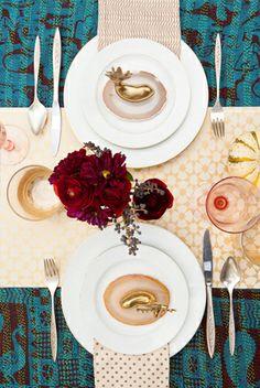 TABLE STYLING - Justina Blakeney