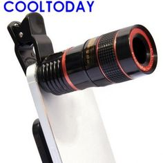30X Universal Lente Microscopio Lupa Telescopio óptica Cámara Teléfono Móvil BC
