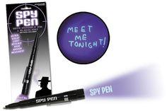 Ultraviolet Spy Pen