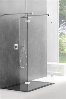 Een eigen walk in douche in de badkamer - Sealskin Shower Doors, Divider, Bathtub, Interior, Inspireren, Home Decor, Bathroom Ideas, Type, Image