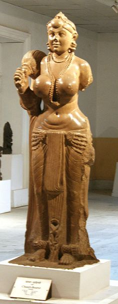 Yakshini - History of clothing in India - Wikipedia, the free encyclopedia Ancient Indian Art, Ancient Art, Sacred Feminine, Divine Feminine, Baroque Painting, Indian Goddess, Period Outfit, Hindu Art, Beauty Full Girl