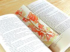 Grow Creative: watercolor Bookmarks
