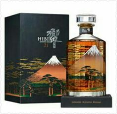(I want the bottle! lol) Lovely Japanese whiskey bottle and box packaging PD Good Whiskey, Cigars And Whiskey, Scotch Whiskey, Bourbon Whiskey, Whiskey Bottle, Alcohol Bottles, Liquor Bottles, Wine And Liquor, Wine And Beer