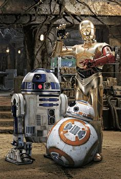 3Dポストカード スター・ウォーズ/フォースの覚醒 C-3PO R2-D2 BB-8 All-star Droids S3709