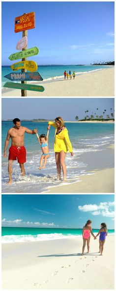 Family time, Bahamas style!