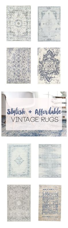 Stylish and Affordable Vintage Rugs