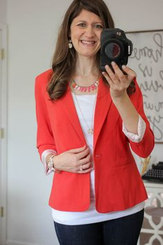 Would LOVE to try this blazer! Been wanting a bright colored blazer. Rebekah Blazer from Kensie - Stitch Fix