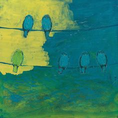 Six In Waiting Break Of Day Painting - @jenlo262 on Fine Art America