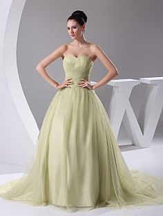 Madel - Бальное платье Атласная свадебном платье с плетения кружева - RUB 11455,27руб.