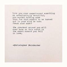 """The Universe and Her, and I #232"" written by Christopher Poindexter"