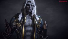 Alucard screen capture from Castlvania: Lords of Shadow 2