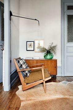 hans j wegner style Plank chair