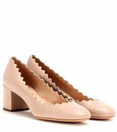 Lauren leather pumps | Chloé