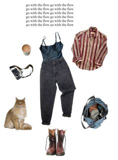 """he looked at me and I could die"" by arthoe2001 ❤ liked on Polyvore featuring American Apparel, Levi's, Eos, Louis Vuitton and Dr. Martens"