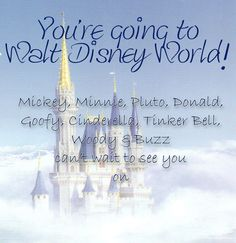 Disney Printable Trip and Event Invitations FREE Disney World Theme Parks, Disney World Planning, Disney World Trip, Disneyland Vacation, Disney Vacations, Disney Trips, Disney Invitations, Event Invitations, Invitation Ideas