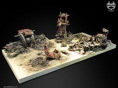 Warhammer 40K Ork Boards from Battleboards