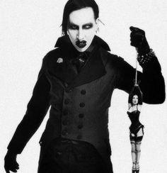 Dita Von Teese & Marilyn Manson