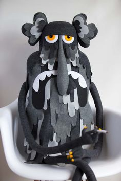 The puppets of the Felt Mistress in pictures Felt puppets Felt Puppets, Marionette Puppet, Hand Puppets, Paper Puppets, Finger Puppets, Felt Monster, Fabric Toys, Paper Toys, Puppet Making