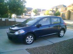 2008 Nissan Versa - Blue