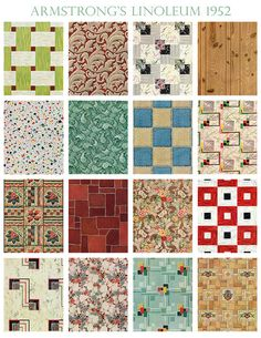 There's No Place Like A Stranger's Floor by wackystuff, via Flickr.  Linoleum, believe it or not, is making a come back!  In fact, above all other floor options, linoleum came in at... #2!