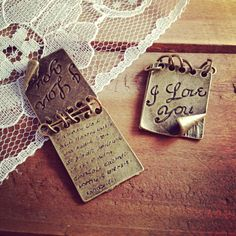 1 Pc Love Letter Charm Antique Bronze Love Letter Notebook School I Love You Charm Love Vintage Style Charm Jewelry Supplies  N006
