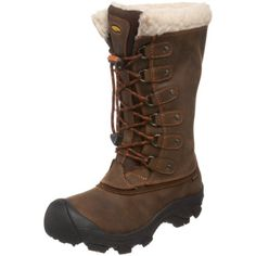 Keen Women's Alaska Waterproof Winter Boot. If these are as warm as they look I could really use them for ice fishing.