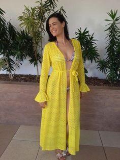 Clothing Blogs, Fashion 101, Beach Fashion, Woman Beach, Bikinis, Swimwear, Beachwear, Ideias Fashion, Wrap Dress