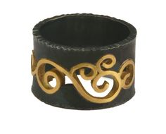 Wrought Inlay Ring (Size 7.5 In Stock)