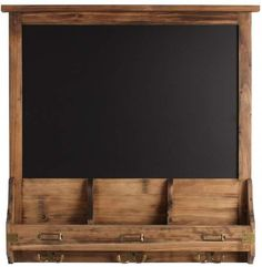 Laurèl Kate And Stallard 24 x 24 x Decorative Rustic Wood Home Organizer Chalkboard Country Kitchen Flooring, Country Dining Rooms, Rustic Wood, Rustic Decor, Rustic Chic, Antique Brass Faucet, Chic Living Room, Country Style Homes, Elegant Homes