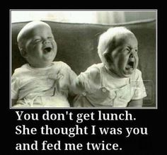 belly laughing!
