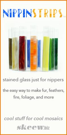 Watch how easy it is to nip fur, feathers, fire, etc!!! Stained Glass you can cut with just your Nippers! No other tools needed for great cuts!