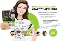 Get your wraps now! Become a loyal customer and today only get one box of wraps free with the purchase of another wrap box! Order from my website and get free bonus money for future orders! Get your summer body now!