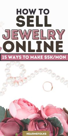 Selling Jewelry Online has never been so easy before. You can now setup your own jewelry selling online business to start selling handmade jewelry online. Check out these 15 ideas and tips to start selling jewelry online. #sellingjewelryonline #jewelrysellingonlinebusiness #sellinghandmadejewelryonline #makemoneyonline #smallbusinessideas Sell Used Stuff Online, Sell Stuff, Online Check, Make Money Fast, Make Money Blogging, Make Money From Home, Selling Jewelry Online, Selling Online, Marketing Strategy Template
