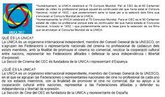 Ciudadanos forma parte de la Sección Oficial del 80º Certamen Estatal de Video No Profesional Selectivo UNICA cuyo objetivo es seleccionar en su programa los cortometrajes que representarán a España en el Concurso Mundial de la Unión Internacional de Cine No Profesional (UNICA). La proyección tendrá lugar el 15 de mayo del 2017 en el Salón de Actos del CEC a las 19:30h.     La UNICA es un organismo internacional independiente miembro del Consejo General de la UNESCO en el que se agrupan las…