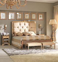 vintage glam rooms | Luxurious, exclusive, hyped-up glamour with over sized pieces defines ...