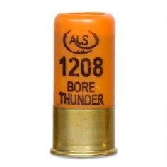 Ammo 12 Gauge ALS Bore Thunder Concussion Cartridge Stun and Diversionary Device Extremely Loud Package of 5 - ALS1208 - 029465022518
