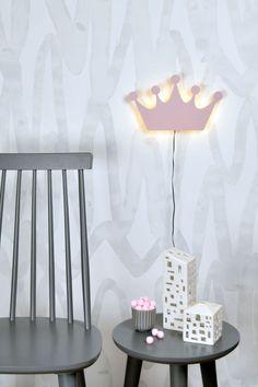 Vägglampa Crown Decor, Lighting, Lamp, Rosa, Home Decor