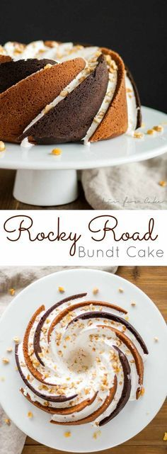 Rocky Road Cake on Pinterest   Tray Bakes, Mars Bar Slice ...