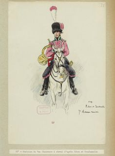 Musician of 7th Chasseurs a cheval