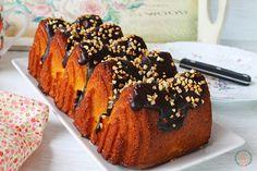 El jardín de mis recetas: LOAF CAKE DE NARANJA, ALMENDRAS Y CHOCOLATE