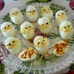 Aren't these adorable? Keto approved Easter deviled eggs. These are perfect for the whole family. A healthy appetizer for an Easter get together you are going to!