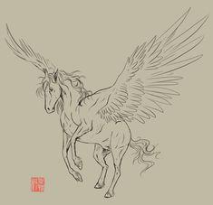 tattoo art pegasus - Google Search