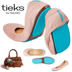 """Tieks by Gavrieli ~ a pair in """"ballet pink"""" would be the perfect Christmas gift."""