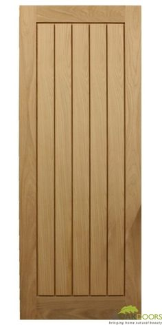 Mexicano Modern Oak Door