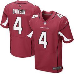 Men's Nike Arizona Cardinals #4 Phil Dawson Elite Red Team Color NFL Jersey
