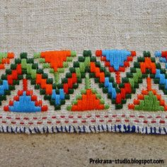 PREKRASA, Ukrainian embroidery Source by saregunes Embroidery Needles, Embroidery Art, Embroidery Patterns, Cross Stitch Patterns, Machine Embroidery, Bargello Patterns, Bargello Quilts, Modern Cross Stitch, Embroidery Techniques