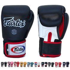 Fairtex Gloves Muay Thai Boxing Sparring BGV1 Size 8, 10,...