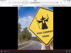 You cannot pass sign