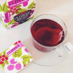 Cranberry and Raspberry Clipper Teas Infusion